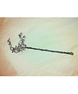 Cosplay Magic Wand Princess Fairy Handmade Copper Moon Adult Wrapped Wir... - $21.78