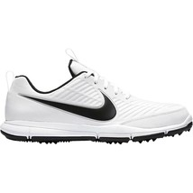 Nike Golf Explorer 2 White Black 849958-100 Mens Wide Shoes - $64.95