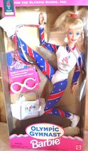 Barbie Doll 1996 Olympic Gymnast Mattel Atlanta Games 15123 Blonde - $24.75