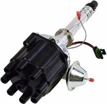 Pro Billet Series R2R Distributor GMC Chevy SBC BBC V8 327 350 396 454 Black image 2