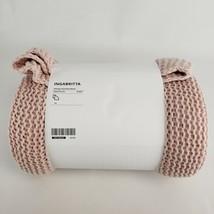 "Ikea Ingabritta Throw Pale Pink 51x67""  703.740.67 New - $47.85"