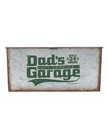 Open Road Brands Dad's Garage Galvanized Container - $32.57
