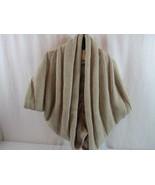 NWT Twenty One Sweater Shawl Cardigan One Size Fits All Taupe - $17.09