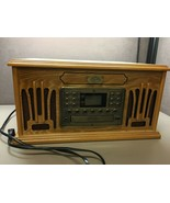 Spirit of St. Louis Phonograph Record Player CD Tape Player Radio AM/FM ... - $168.29