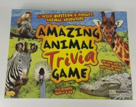 Amazing Animal Trivia Game Board Game Complete - $14.01