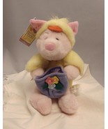 POOH BEAR Piglet as Baby Chick and Easter Basket, A Very Pooh Easter, 10-inch - $14.03