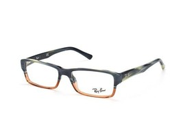 New Ray ban Eyeglasses Frames RB 5169 Blue Brown Horn 5543 Authentic 54-... - $70.08