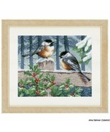 Vervaco Blue Tits in Winter Counted Cross Stitch, Multi-Colour - $28.69