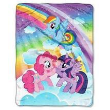 My Little Pony Microfleece Throw 46x60 Multicolor - Hasbro TRG - $36.99
