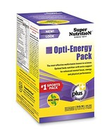 SuperNutrition Opti-Energy Pack Multivitamin, 30 Packets of 6 tabs - $34.73