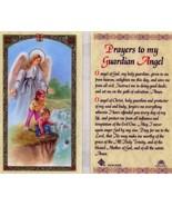 8 Prayer Card Lot - Prayers to My Guardian Angel O Angel of God My Holy ... - $8.59
