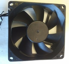 JAMICON JF0825S1H-S  or equivalent 12 volt cooling fan W/ 80x80x25mm 2 pin plug image 2