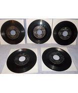 Six 45 RPM Record Lot Platters Mercury Label 1950's Great Pretender Harb... - $5.95