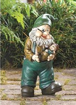 GRANDPA and BABY GARDEN GNOME Indoor or Outdoor Decor Statue - $21.77