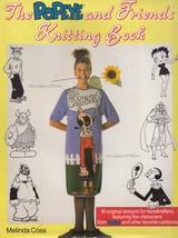 Popeye & Friends, Melinda Coss Knit Pattern Book Olive Oyl Sweet Pea Bet... - $7.95