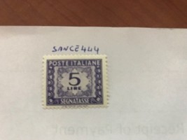 Italy Segnatasse 5L mnh 1947  stamps - $1.95