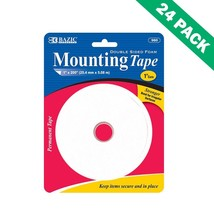 Double Sided Foam, Two Sided Foam Mounting Tape For Outdoor Craft (24 Un... - $64.09