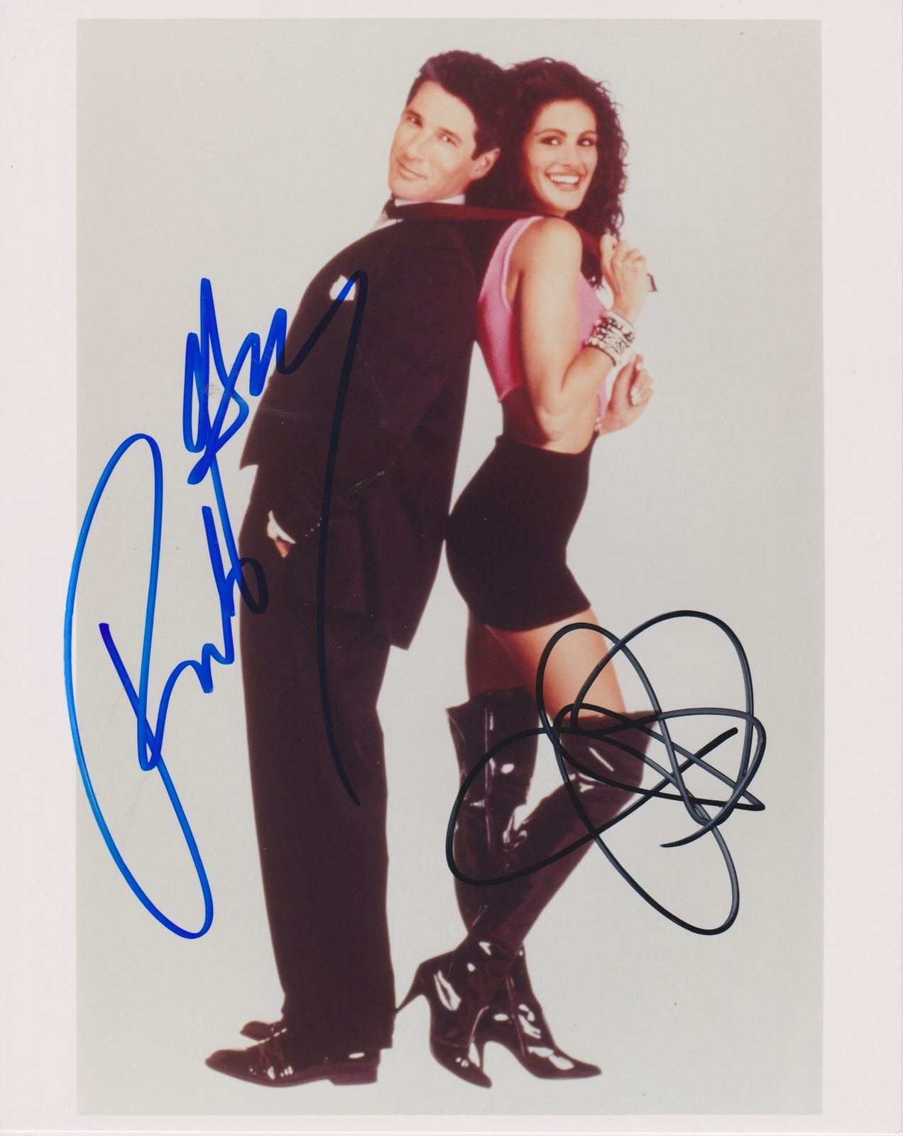 "Primary image for Richard Gere & Julia Roberts Autographed ""Pretty Woman"" Glossy 8x10 Photo - COA"