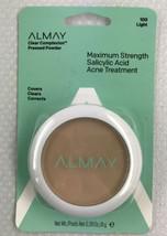 ALMAY Clear Complexion Pressed Powder w/ Acne Treatment - Light 100 - 0.28 oz. - $8.79