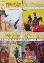 ESTEFANIA Bruguera Marcial La Fuente, various Lot of 4 Books en Espanol ... - $6.00