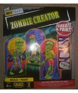 Boy Craft Zombie Creator  Mold & Paint . New in Box. - $9.89