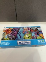 Disney Pixar Panoramic Monsters 700 Pc Ceaco Jigsaw Puzzle New Open Box - $15.79
