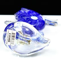 Dynasty Gallery Handmade Blue Seahorse Glow in the Dark Art Glass Figurine image 5
