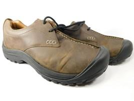 Keen Boston III Size 11.5M (D) Eu 45 Hombre con Cordones Zapatos Casual Marrón