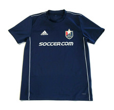 Adidas North Carolina FC Jersey Climalite Embroidered Logo Patch Blue Si... - $18.17
