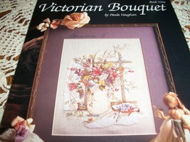 Victorian Bouquet Cross Stitch Leaflet 521 - $7.00