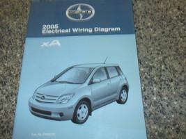 2005 Toyota Scion Xa Elettrico Cavi Schema Servizio Negozio Riparazione ... - $26.68