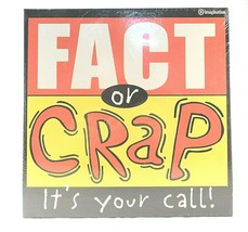 Fact Or Crap It's Your Call! Card Board Game Box Set Imagination Entertainment - $14.84
