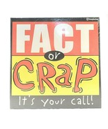 Fact Or Crap It's Your Call! Card Board Game Box Set Imagination Enterta... - $14.84