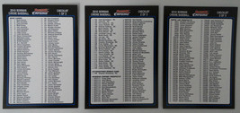2010 Bowman Chrome Checklist Team Set 3 Baseball Cards - $1.00