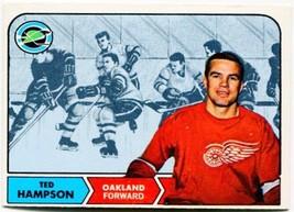 1968/69 Topps Ted Hampson #85 California Golden Seals - $1.99