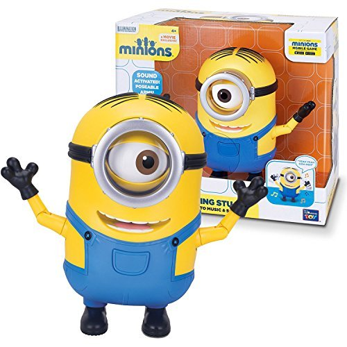 Thinkway Toys Illumination Entertainment Minions Movie Exclusive 8 Inch Tall Ele