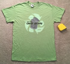 Clean Up Day Shirt Recycle Reuse Save the Earth  - $15.00