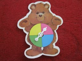 1984 Care Bears- Warm Feeling Board Game Replacement part: Bear Spinner - $4.00
