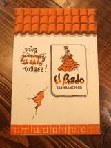 1939 El Prado Mexican Restaurant Table Tent Mailer San Francisco CA Worl... - $15.00