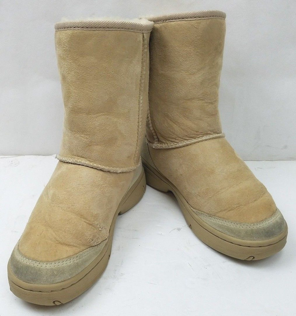 Primary image for Authentic UGG 5275  Ultimate Short Chestnut Women's Boots Size: 6