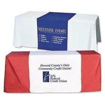 "Customize Table Runner with your logo or Design From 24""x72"" to  24""x90""  Great  image 7"