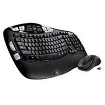 Logitech 920-002555 MK550 2.4 GHz Wireless Keyboard, Mouse - Laser - USB... - ₹4,978.38 INR
