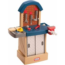 MS) Little Tikes Tough Workshop Kids Toddler Tool Work Bench Toy Learnin... - $69.19