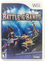 Battle Of The Bands (Nintendo Wii, 2008) Instruction Booklet Music Rhythm - $5.65