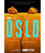 "Oslo Poster  Bartlett Sher Movie Art Film Print Size 11x17"" 18x24"" 24x36... - £7.89 GBP+"