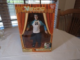 N Sync Collectible Marionette Figure Justin Timberlake living toyz doll ... - $28.50