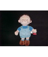 """13"""" Peanuts Gang Pigpen Plush Doll With Tags From Camp Snoopy Super Nice - $140.24"""