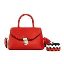 BNWT ZARA  RED  MINI CROSSBODY BAG WITH FASTENING  REF. 4329/204 - $58.19