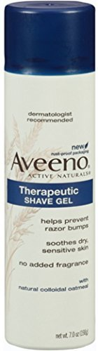 AVEENO Therapeutic Shave Gel 7 oz Pack of 3