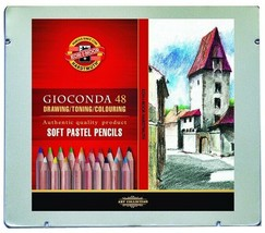 Koh-I-Noor set of artists´ soft pastel pencils 8829 48 colours - $56.10